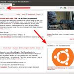 Ubuntu auf der Spiegel-Homepage spiegel.de (11.02.2012 22:15 Uhr)