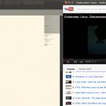 Kleiner Youtube-Player neben der eigentlichen Aufgabe