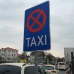 Verkehrsschild Taxenstand