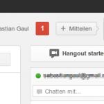 Google Plus: Benachrichtigungen