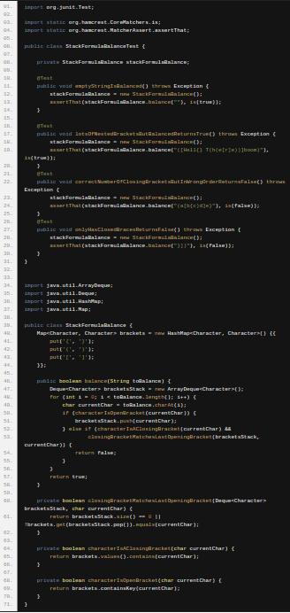 http://www.corejavainterviewquestions.com/code-corner-bracket-balancing/